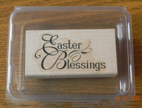 Stampin' Up! Easter Blessings