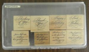 Elegant Greetings 30 300x177 Retired Stampin Up! Greetings Stamp Sets for Sale
