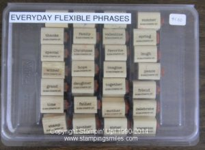 Stampin' Up! Everyday Flexible Phrases Stamp Set