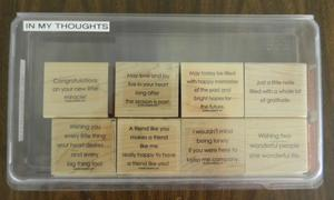 In My Thoughts 31 300x180 Retired Stampin Up! Greetings Stamp Sets for Sale