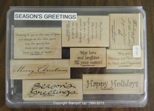 Seasons Greetings 27 300x216 Retired Stampin Up! Greetings Stamp Sets for Sale