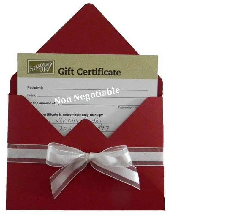 Order a Stamping Smiles Gift Certificates