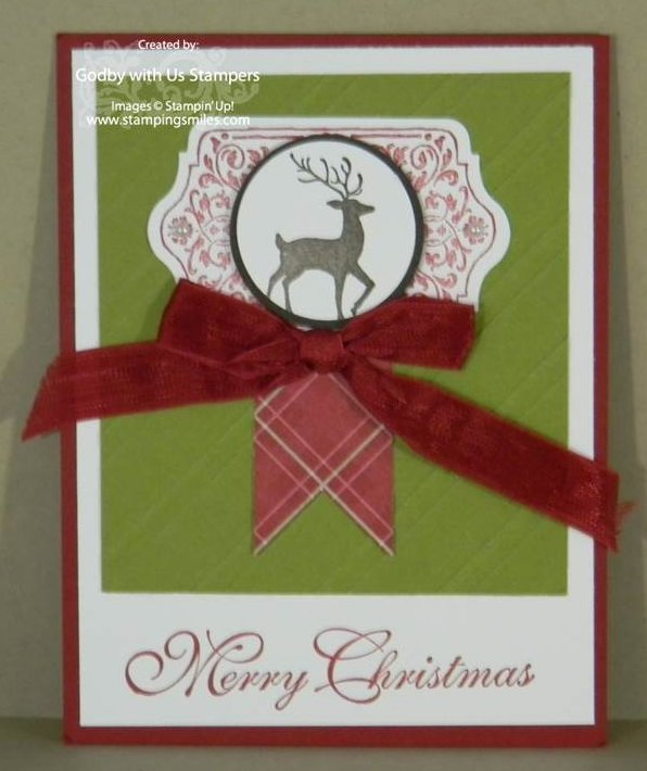 Warmth and Wonder The Warmth & Wonder of a Stampin Up! Christmas Card