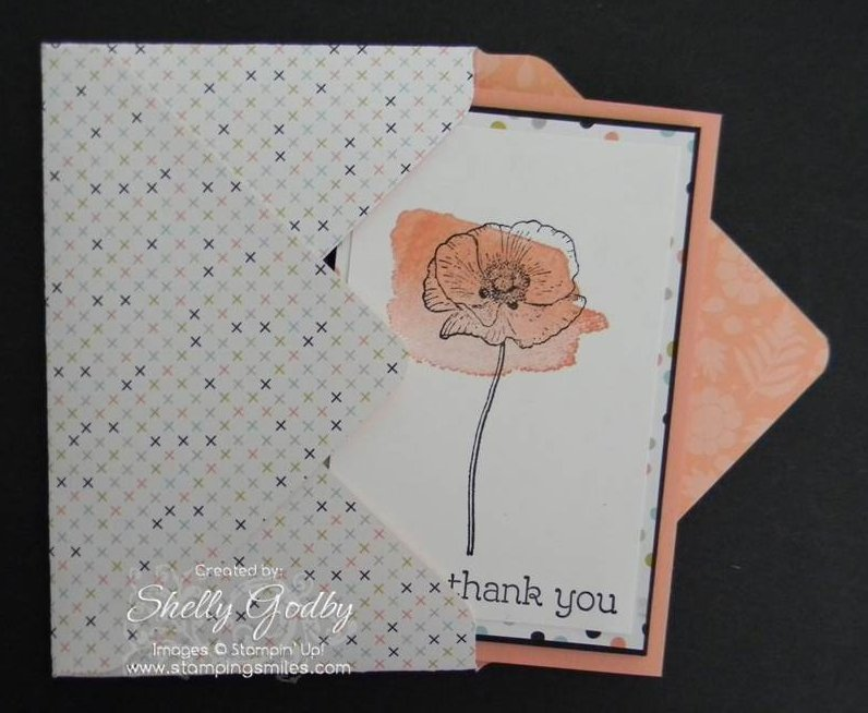 Stampin' Up! Happy Watercolor card idea