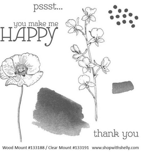 Stampin' Up! Happy Watercolor Stamp Set
