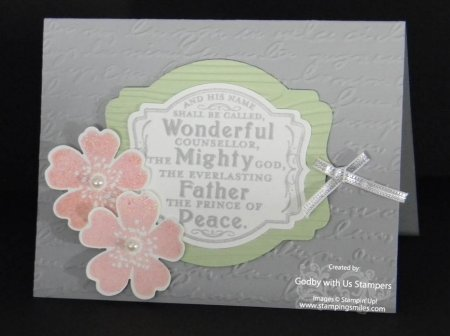 Stampin' Up! Prince of Peace Stamp Set