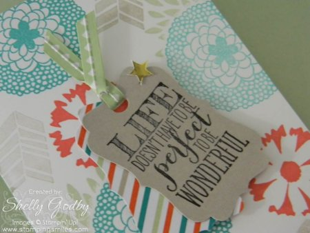 Stampin' Up! Petal Parade and Pennant Parade card