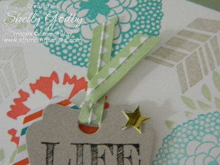 Twist Tie from  Stampin' Up! Twisty Treats Kit