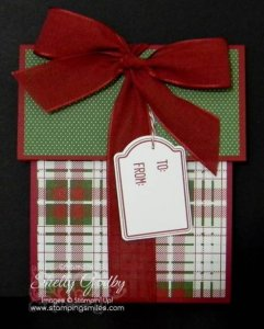 Learn how to make this gift card holder!