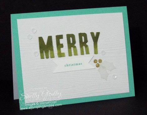 Stampin' Up! Watercolor Winter Simply Created Kit