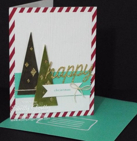 Stampin' Up! Watercolor Winter Card
