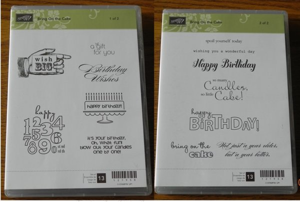 Stampin' Up! Bring on the Cake Stamp Set