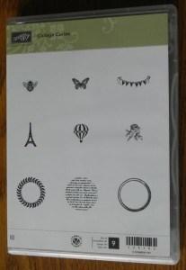 Stampin' Up! Collage Curios Stamp Set