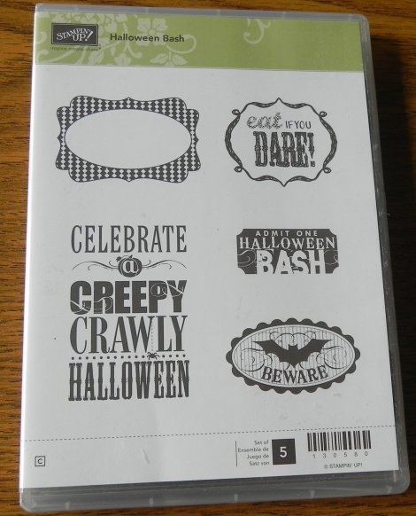 Stampin' Up! Halloween Bash Stamp Set