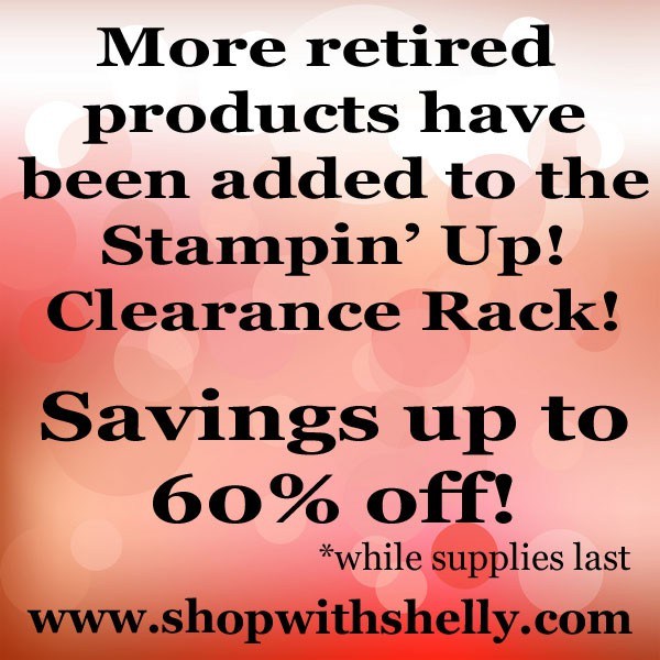 More items added to Stampin' Up! Clearance Rack