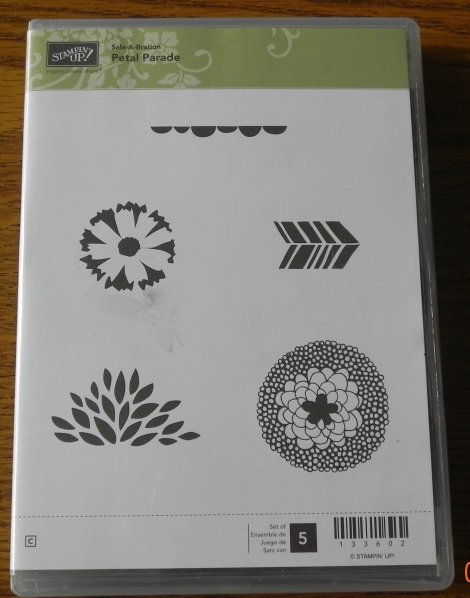 Stampin' Up! Petal Parade Stamp Set