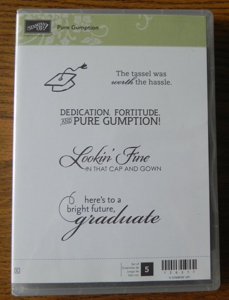 Stampin' Up! Pure Gumption Stamp Set