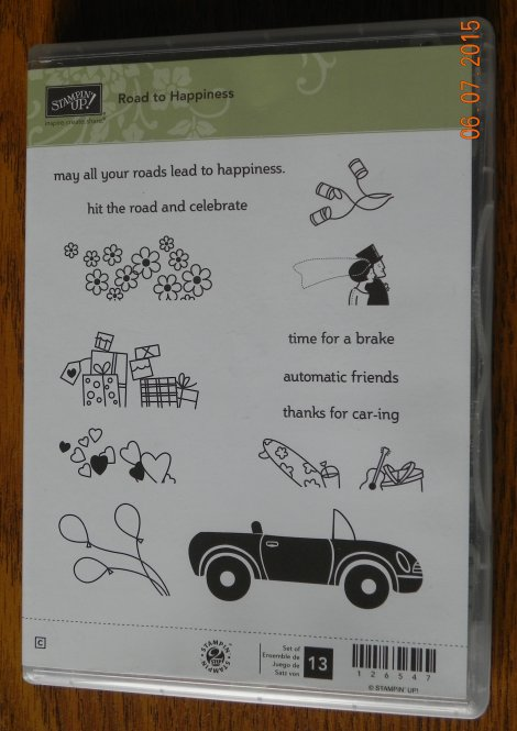 Stampin' Up! Road to Happiness Stamp Set