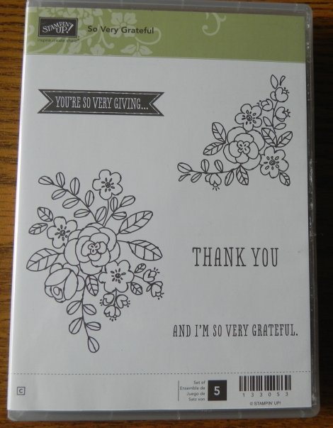 Stampin' Up! So Very Grateful Stamp Set