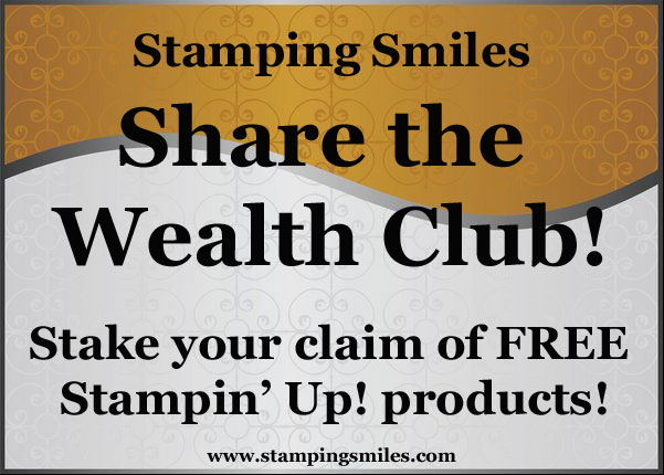 Join the club and earn FREE Stampin' Up! products!