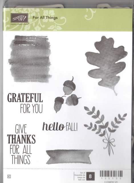 Stampin' Up! For All Things Stamp Set for Sale