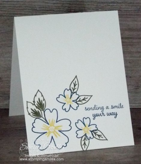 Clean and Simple Stampin' Up! Love and Affection Card