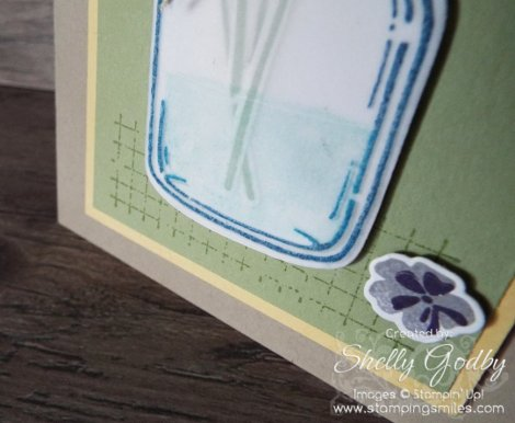 Stampin' Up! Jar of Love and Timeless Textures Stamp Sets