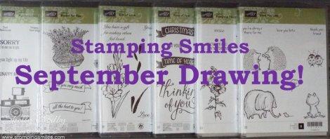 Stamping Smiles September Drawing