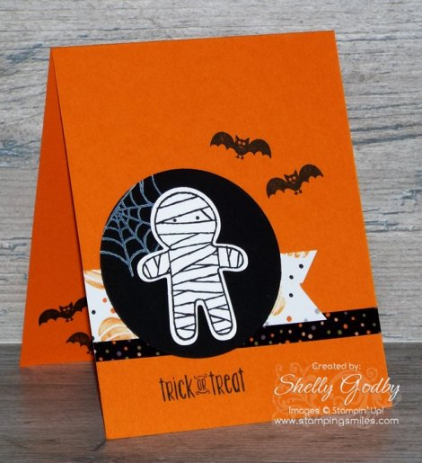 Stampin' Up! Cookie Cutter Halloween Card