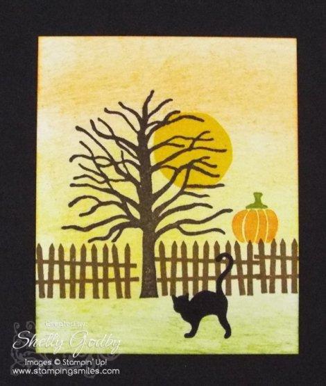 Stampin' Up! Halloween Scares Card