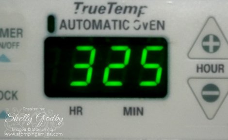 Preheat Oven to 325 Degrees