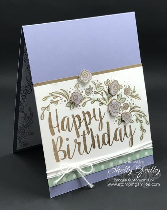 If You Make Birthday Cards For Those Who Like Stampin Up Big On Birthdays Stamp Set