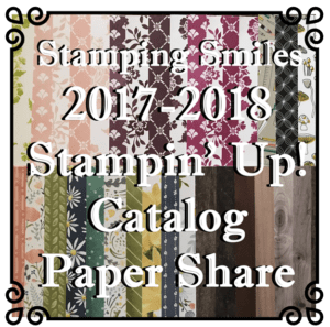 2017-2018 Stampin' Up! Catalog Paper Share