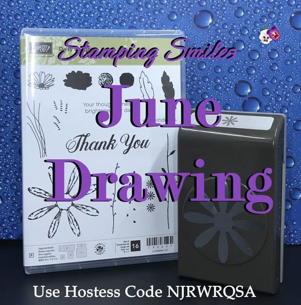 Stamping Smiles June Drawing for a Stampin' Up! Daisy Delight Bundle