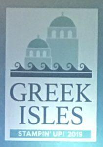 Greek Isles 2019 Stampin' Up! Grand Vacation
