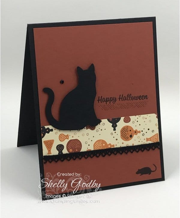 Spooky Night Designer Series Paper