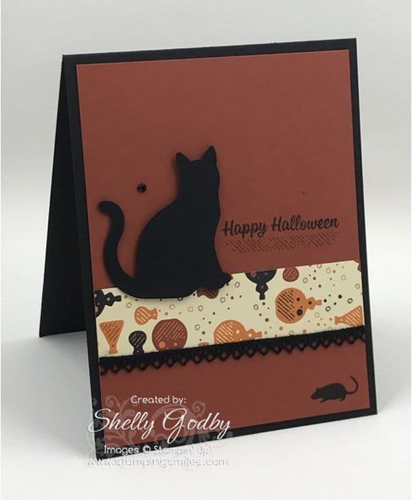 Spooky Night Designer Series Paper