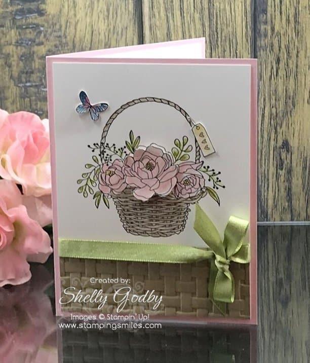 Blossoming Basket Clear-Mount Bundle