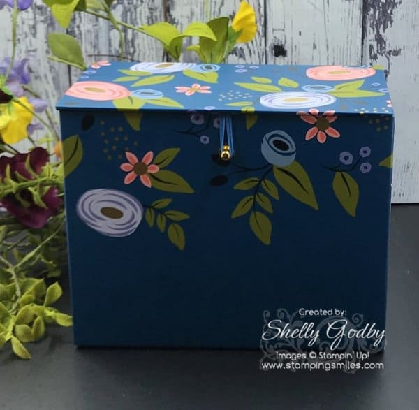 Stampin' Up! Perennial Birthday Project Kit card box