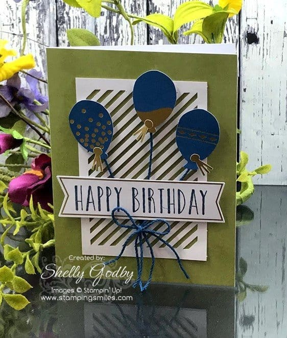 Stampin' Up! Perennial Birthday Project Kit cards