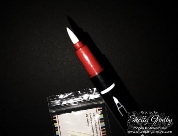 Ruined Stampin' Write Markers Tip