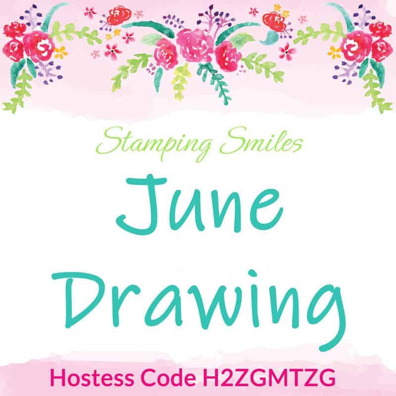 Stamping Smiles June Drawing for Stampin' Up! Varied Vases Bundle