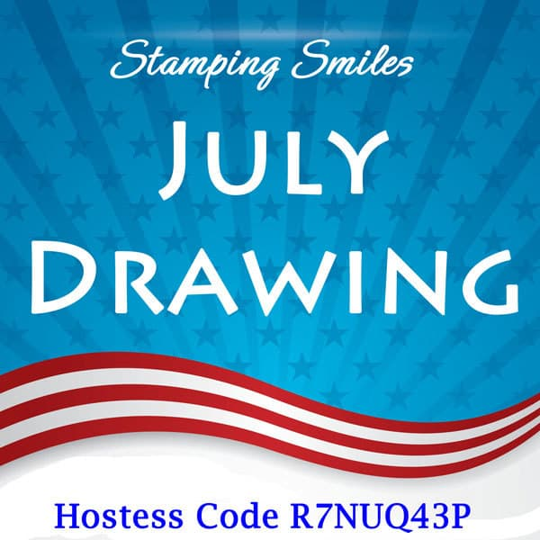 Stamping Smiles July 2018 Drawing for Stampin' Up! Blended Season Bundle