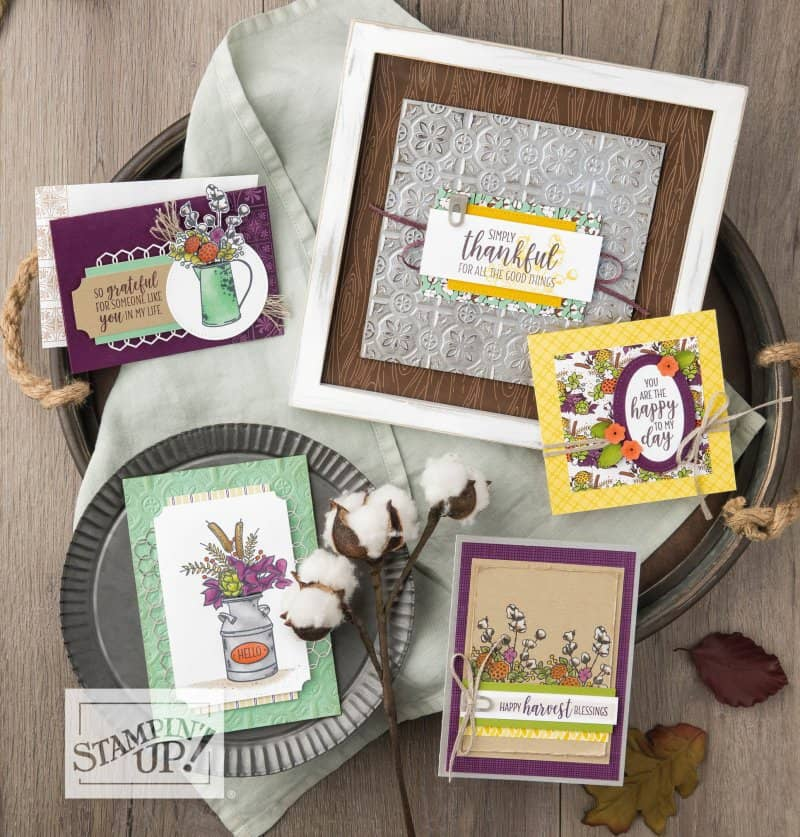 Stampin' Up! Country Home card samples from the 2018 Stampin' Up! Holiday Catalog