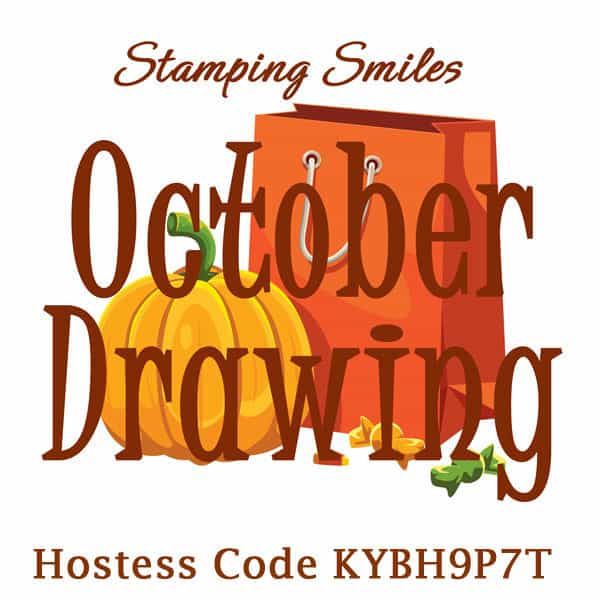 Stamping Smiles October Drawing for a Stampin' Up! Falling for Leaves Bundle