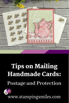 Tips on mailing handmade cards by Shelly Godby of www.stampingsmiles.com