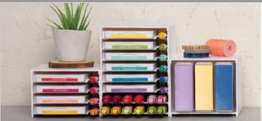Storage solutions from Stampin' Up! coming April 1, 2019