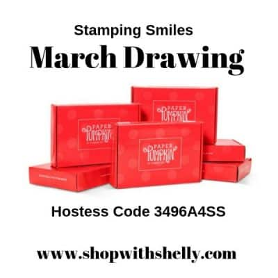 Your March 2019 Stampin' Up! order placed with me could win a 6-month Paper Pumpkin subscription in my March Drawing!