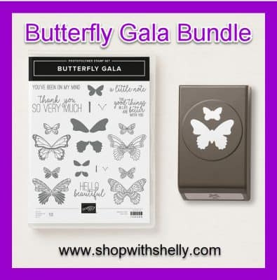 Stampin' Up! Butterfly Gala Bundle with 10% Stampin' Up! bundle discount savings!