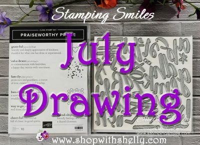 Stamping Smiles July Drawing